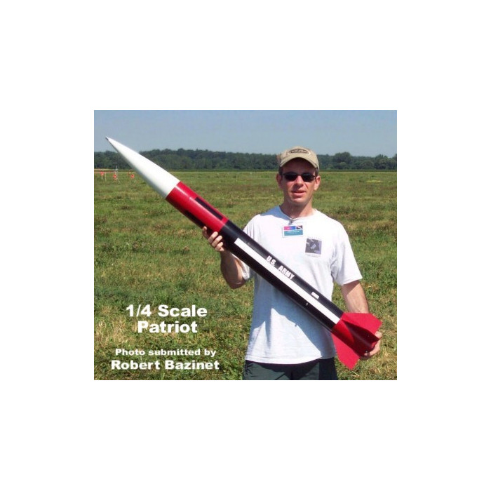 1/4 Scale Patriot Missile