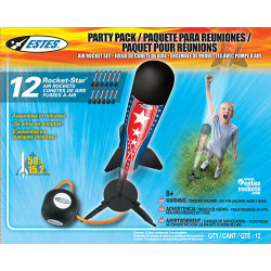 Estes Rocket-star Air Rocket Party Pack