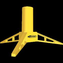 Estes Model Rocket Display Stand 24MM