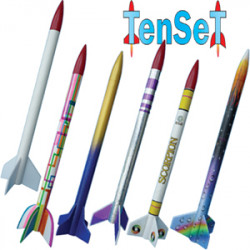 Klima TenSeT 10 modelraketten